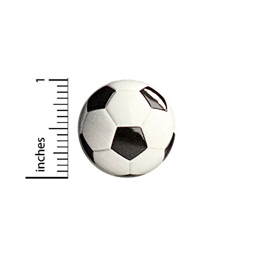 (Soccer Ball Button Backpack Bag Pin Jacket Pinback Sports Cool 1