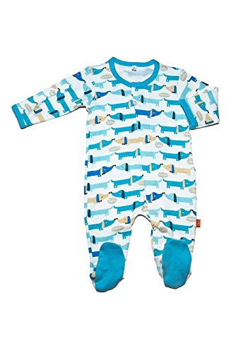 (Magnificent Baby Baby Boys' Footie, Hot Dogs, 6 Months)
