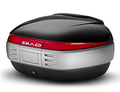 Shad D0B5000 Top-Case mit Universal Halter und Rückstrahler, 50 Liter