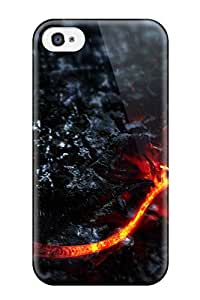 High-quality Durability Case For Iphone 4/4s(lava Dragon)