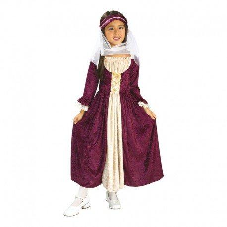 Rubies Disfraz infantil chica medieval S 882328-S: Amazon.es ...