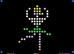Lite Brite Refill: Little Miss (12 Sheets) For Magic Screen, Create With Light, Basic Fun, & Retro Style Lite Brites