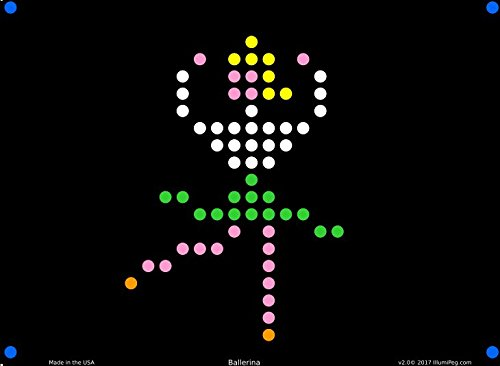 graphic relating to Printable Lite Brite Patterns referred to as Lite Brite Refill: Small Pass up (12 sheets) for Magic Exhibit
