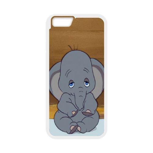 Dumbo 006 coque iPhone 6 4.7 Inch Housse Blanc téléphone portable couverture de cas coque EOKXLLNCD18298
