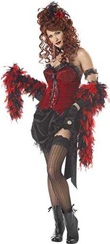 Adult Saloon Girl Halloween Costume -