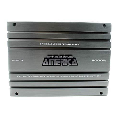 New 2000 01 Ford Escape - Pyramid PB618 2,000-Watt 4-Channel Bridgeable Mosfet Amplifier