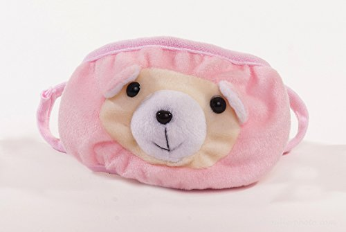 3d-Pink-Bear-Dust-Mask-Child