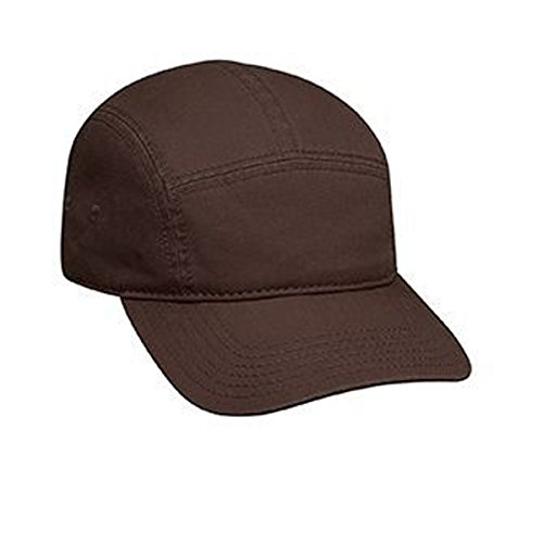 OTTO Superior Garment Washed Cotton Twill Five Panel Camper Style Caps (Crown Five Panel Cap)