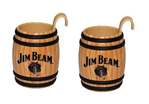 (Jim Beam Sidecar Barrel Shot Glass 2pk)