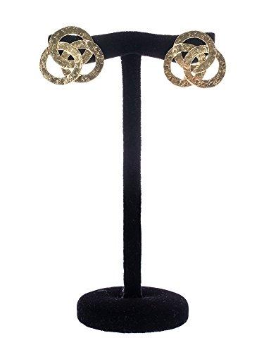 Nerdi Orafi Boucles d'oreilles en or martelé