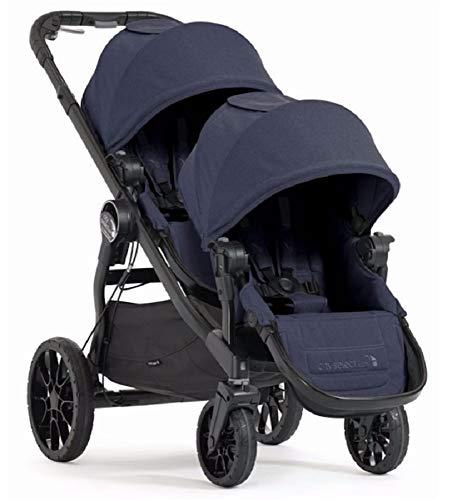 Baby Jogger City Select LUX Double Stroller in Indigo