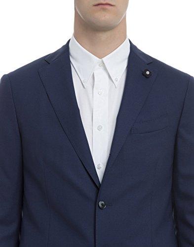 Lardini Homme EC857AE6 Bleu Laine Costume