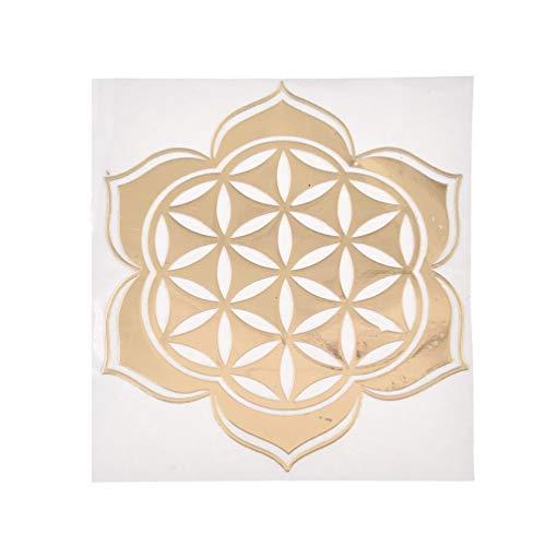 lychee Invitation Energy Metal Copper Paste Flower of Life DIY Copper Scrap Geometry Orgonite Energy Tower - Stickers Scrap Metal