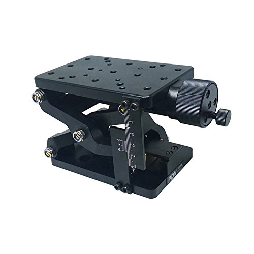 PT-SD408 Manual Lab Jacks Lifting Platform Z-Axis Trimming Platform Manual Linear Stage Sliding table