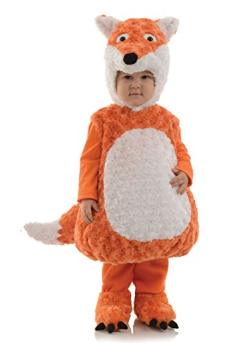 Underwraps Kid's Underwraps Baby's Fox Costume, Large Childrens Costume, orange, (Underwraps Costume)