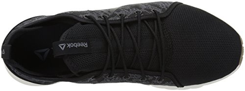 Reebok Womens Plus Lite HB Track Shoe Heather Black - Black/Asteroid Dust/Rbk Rubber Gum/Chalk eUX2VQ