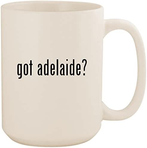 got adelaide? - White 15oz Ceramic Coffee Mug Cup