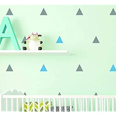 Triangle Wall Decals - Triangle Peel and stick Decals - Nursery Wall Decals - Design pack: Handmade [5Bkhe1000085]