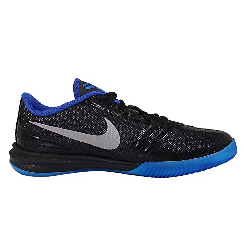 Nike Kid'S Kb Mentalidad zapatos de entrenamiento Gs deporte BLACK/MTLLC SILVER-GM ROYAL-PHOTO BLUE