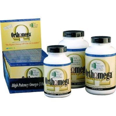 Ortho Molecular Orthomega Omega 3 Fish Oil - 60 Softgel Capsules