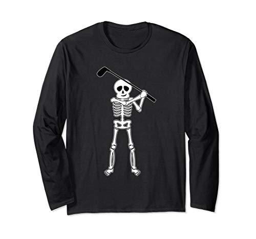 Halloween Golfer Skeleton Shirt | Funny Golfing Gift ()