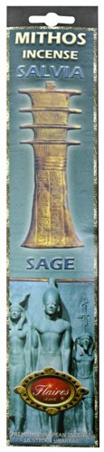 Egyptian Salvia Sage Mythos Divination Incense by Flaires - F-080 3PK