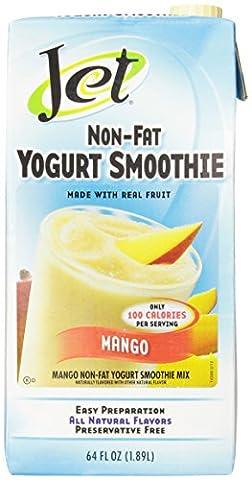 Jet Non-Fat Yogurt Smoothie, Mango, 64 Ounce - Coffee Yogurt
