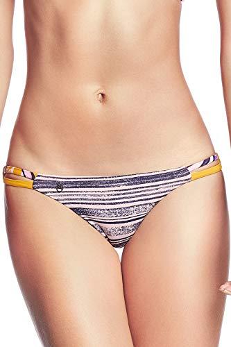 - Maaji Women's Tab Side Hipster Bikini Bottom Multi S