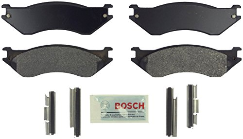 (Bosch BE758H Blue Disc Brake Pad Set with Hardware)