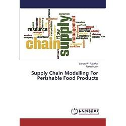 Cadena de suministro de modelado para productos alimenticios perecederos