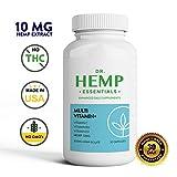 Natural Multivitamin for Women - Multivitamin for Men - Mens Multivitamin - Womens Multivitamin - Hemp Extract Capsules - Workout Supplements - Hemp Multivitamin - THC Free - Multi-Vitamin+