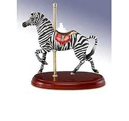 Lenox Smithsonian American Carousel Antique Zebra Horse New York Ltd ()
