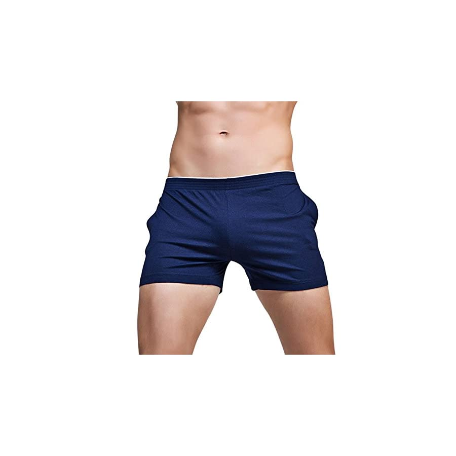 Banana Bucket Men's Running Workout Gym Active Shorts Lounge Sleep Bottoms