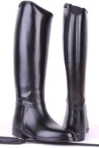 HKM 4510 - Botas de equitación para Hombre estándar, Botas de equitación para Hombre, Inserto elástico