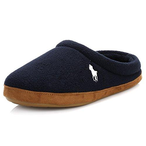 Polo Ralph Lauren jacque Scuff Herren Hausschuhe Blau