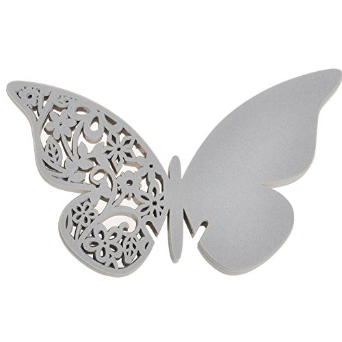Wedding Butterfly Table Place Decoration