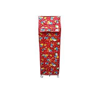 KR Trading Foldable Almirah Plastic...