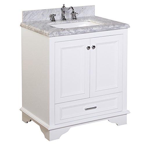 KBC Kitchen Bath Collection KBC1230WTCARR Nantucket Bathr...