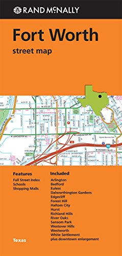 Rand McNally: Folded Map: Fort Worth Street Map - Fort Worth Map