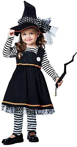 Crafty Halloween Hocus Pocus Spellbinder Magic Wizard Witch Costume Child Girls (Hocus Pocus Magic)