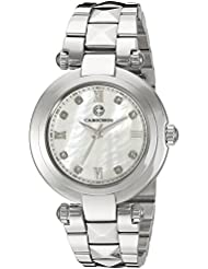 Cabochon Womens CABOCHON-16088-22 Cairo Analog Display Quartz Silver Watch