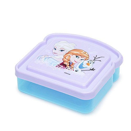 ZAK! Designs BPA Free Disney Frozen Elsa Lunch Box Storage Fresh Sandwich Container