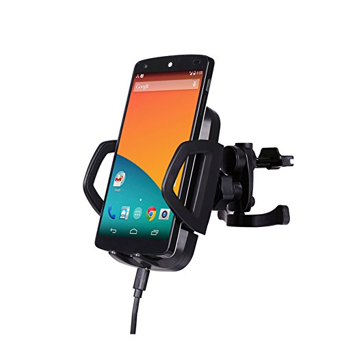 iRapid 2 in 1 Charging Solution Kit ,QI Wireless Car Mount Charger Car Phone Holder , Charging Pad for iPhone 8/7/7Plus,Galaxy S3/S4/S5, LG Nexus4/5 and Other QI Standard Smart phones by iRapid