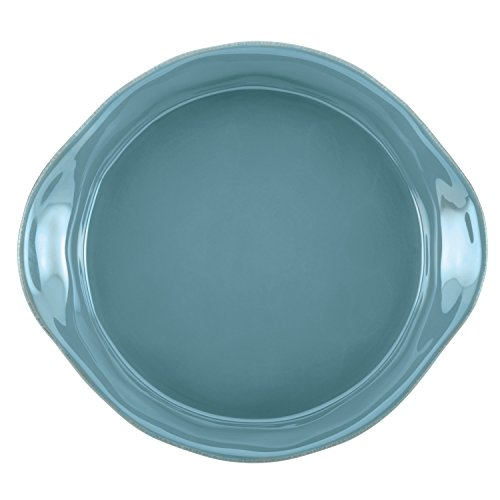 Rachael Ray Cucina Stoneware 3-Piece Round Casserole & Lid Set, Agave Blue by Rachael Ray (Image #5)