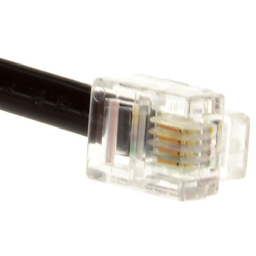 Kenable ADSL Broadband Modem Cable RJ11 to RJ11 Black 3m (~10 feet) by Kenable (Image #2)