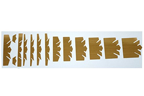 Guitar Imperial Crown Gold Frets Inlay Decal sticker