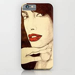 Society6 - Aaliyah iPhone 6 Case by DeMoose_Art