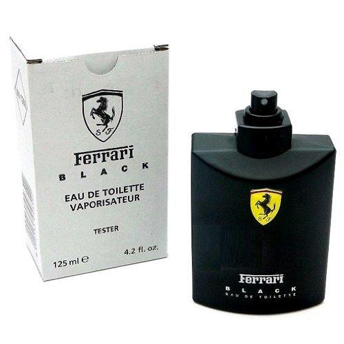 Ferrari Black Cologne by Scuderia Ferrari, 4.2 oz Eau De Toilette Spray for Men - Scuderia Ferrari Black