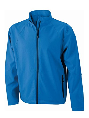 Giacca Jacket Softshell Uomo Men's In Azur rw0qrpP4