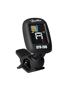 Afinador digital con pinza Boston btu-200 para guitarra acústica eléctrica bajo clásica: Amazon.es: Instrumentos musicales